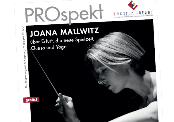Layout: PROspekt / Theater Erfurt
